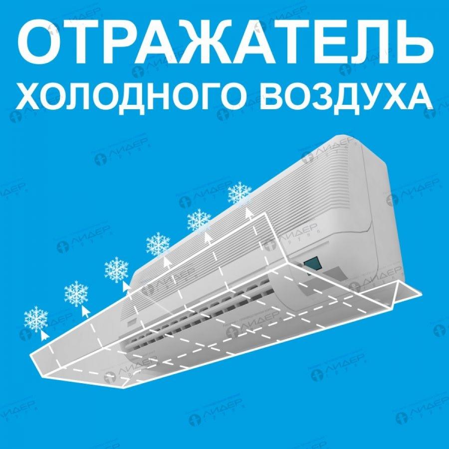 Экран-отражатель холодного воздуха №1. Крепиться к кондиционеру.