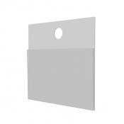 Ценник навесной на крючки 4,5*6 см