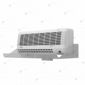 Экран-отражатель холодного воздуха №4. С боковой защитой.